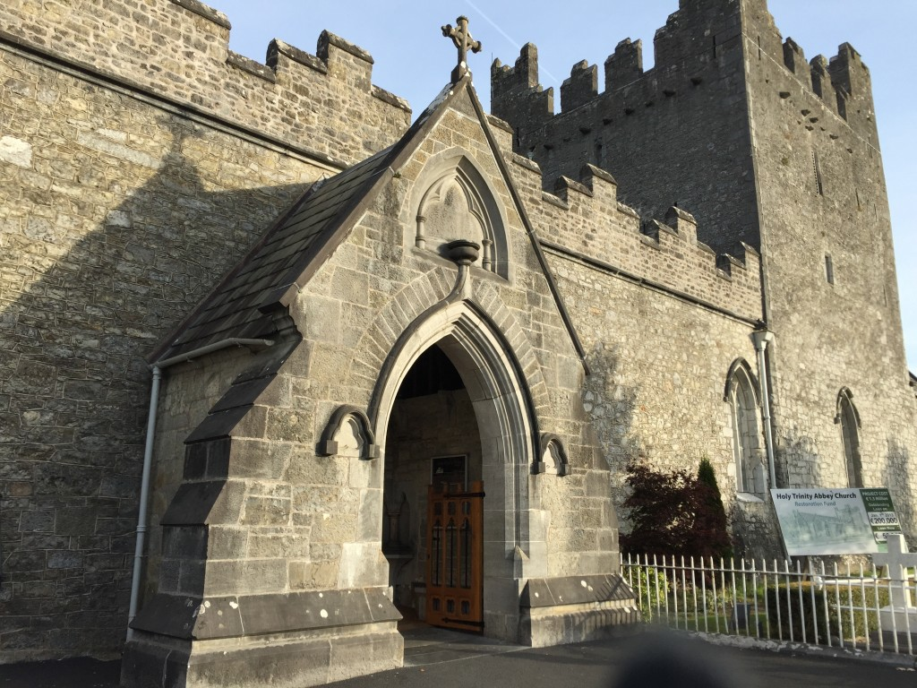 Adare Church in Ireland from Roseann Script's vaction