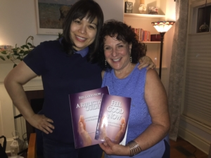 Roseanne DeRasmo Script, with fellow Theta Energy Healer Ann Young, with Roseanne's New book: Feel Good Now
