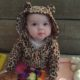 Baby Evelyn in a Leopard Costume