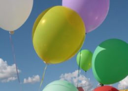 Kids can have fun with balloons learning chakras