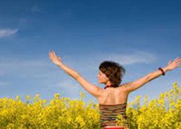 Feeling Empowered reaching for new beginnings for spring