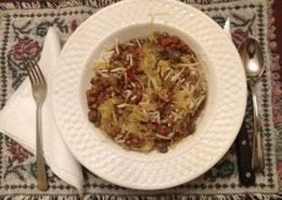 Healthy Lentils Recipe with Spaghetti Squash
