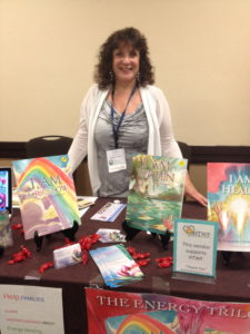 Author - Roseanne D'Ersamo Script and her books: I AM a Rainbow, I AM Within, I AM Healer
